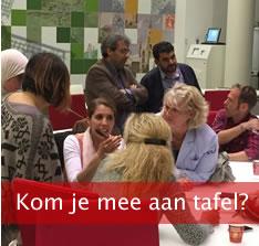 Utrecht in Dialoog - Kom je mee aan tafel?